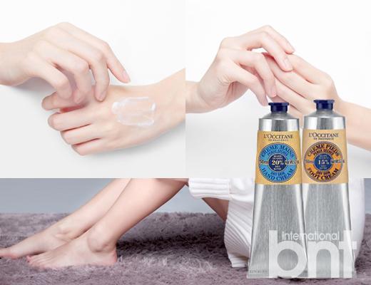 秋冬天手脚也是需要特别照顾的部位,干净、柔软的双手和双脚即便不做华丽的美甲也十分美丽。