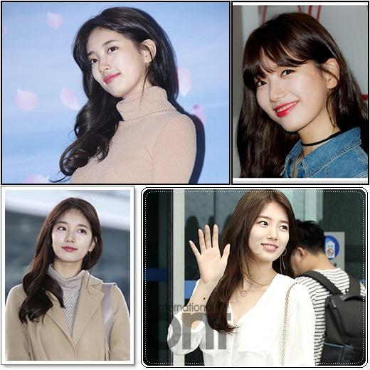 """誉有""""国民初恋""""之称的秀智,同时也是韩国最具代表性的美人。精致的五官与无瑕、白皙的肌底,让她何时何地都能""""自体发光""""。"""