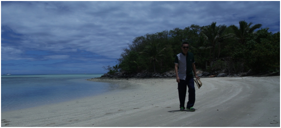 2016年10月林东岛主考察斐济私人岛屿