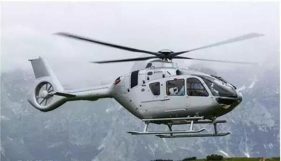△空客即将在青岛生产的H135直升机