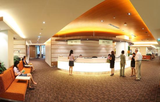 图为:泰国康民国际医院