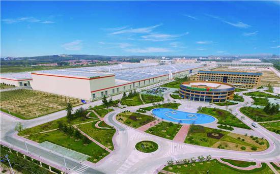 世界领先、美如花园的双星工业4.0智能化工厂。