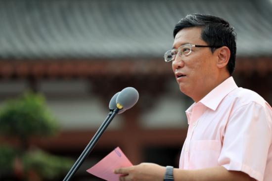 国家宗教事务局副局长蒋坚永致辞