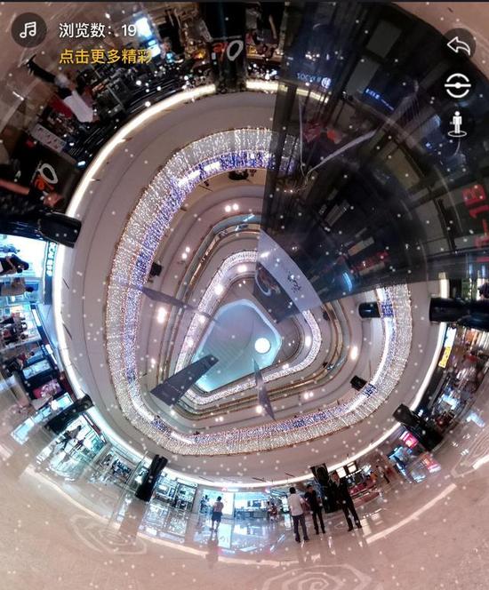 益田假日商场VR拍摄