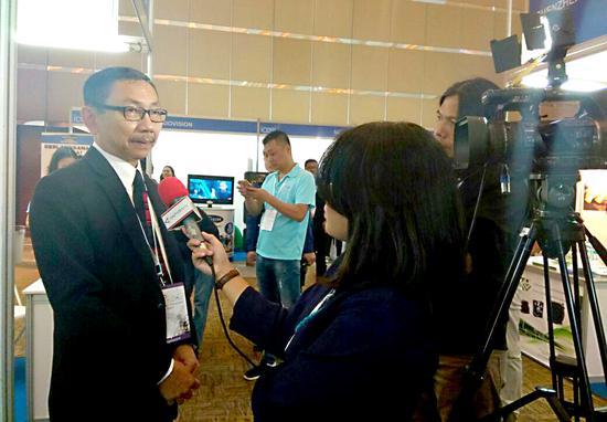 Antara TV 现场报道