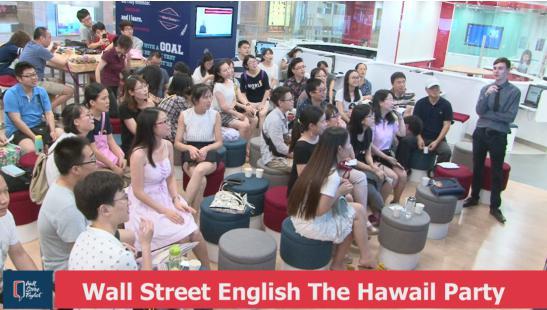 华尔街英语社交活动课