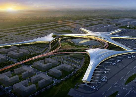 毕维准表示,今年是胶东国际机场的主体攻坚年,明年是设备调试年。