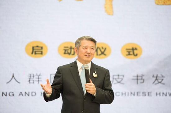 ▲泰康保险集团董事长陈东升
