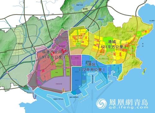 青岛董家口经济区总体规划