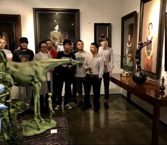 展览艺术pa