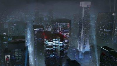 动画中以假乱真的城市远景
