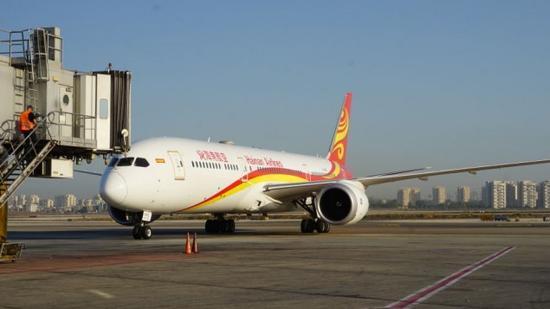 海航上海-特拉维夫首趟直飞航班抵达以色列_新浪青岛