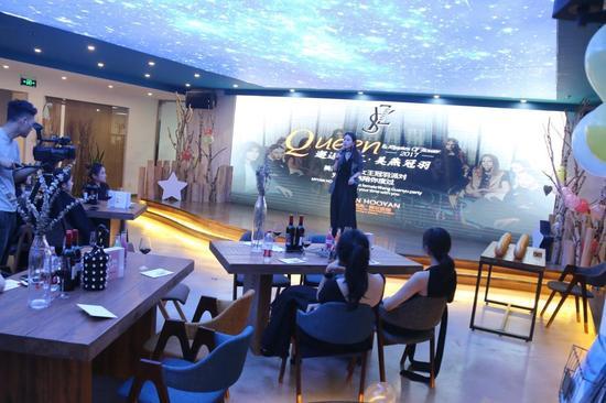 杭州琥颜贸易公司总经理李美妍发言
