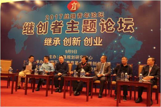左起:吕鹏、何万斌、李翼、仇兴东、高皓、齐向东、赵兹