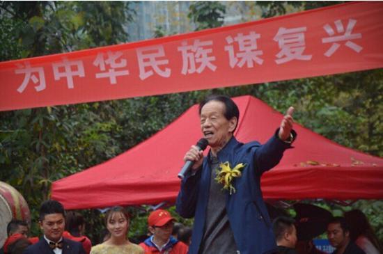 国防大学校务部原部长毕泗振将军致辞