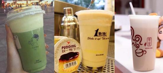 """不过在对此事件了解的过程中,记者在上海南站发现了一家""""特殊""""的奶茶店——吉满杯。"""