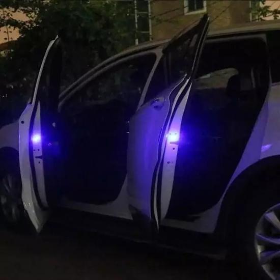 车门爆闪警示灯