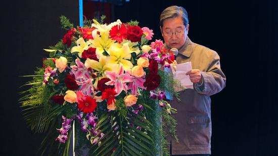 ▲民政部原副部长李惠仁
