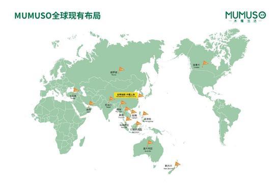 MUMUSO全球现有布局