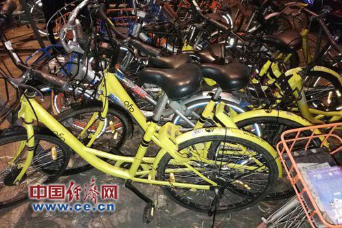 共享单车。经济日报-中国经济网记者杨秀峰/摄