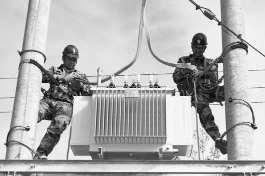 临淄区:42台变压器上岗 保障40个村庄用电