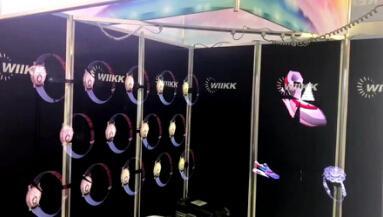CES展会上的全息投影设备