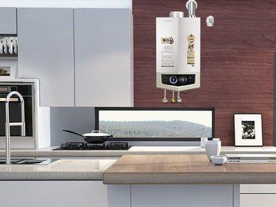A.O。史密斯零冷水型燃气热水器安装示意图