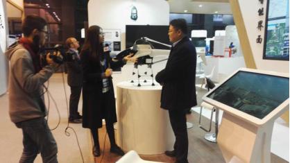 公司董事长谭登峰接受媒体采访