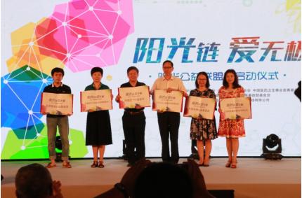 """轻松筹联合六大基金会成立""""阳光公益联盟链"""""""