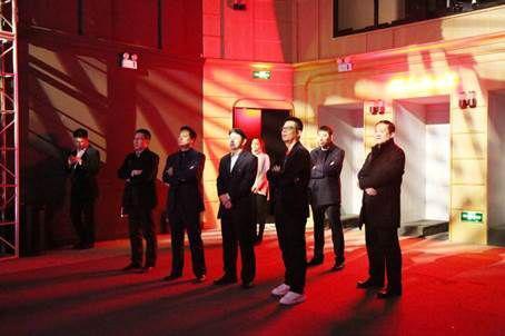 吉林省通化市王市长等一行领导参观4D全息演唱会馆