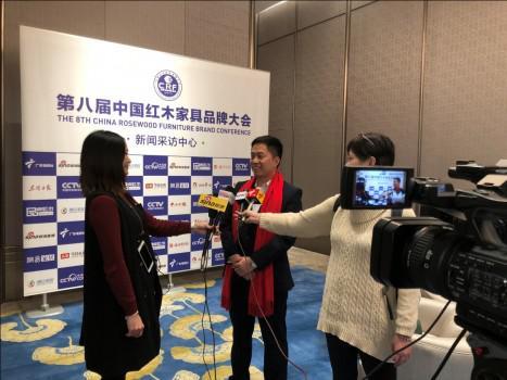大汇堂董事长胡春龙接收中央电视台采访