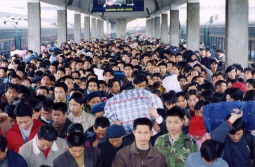 资料图  广州火车站供图