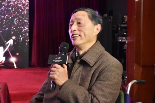幼儿篮球及动感篮球操创始人余绍森老师发表讲话