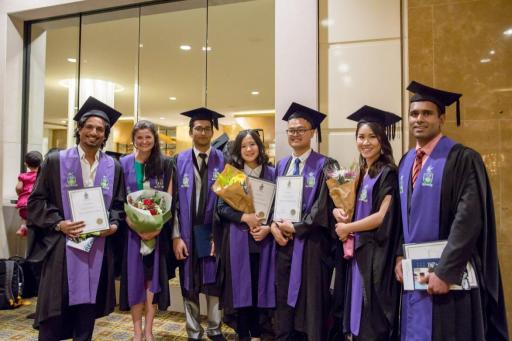 中央昆士兰大学硕士毕业生们来自超过50个国家