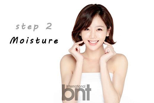 Step2. 充分保湿