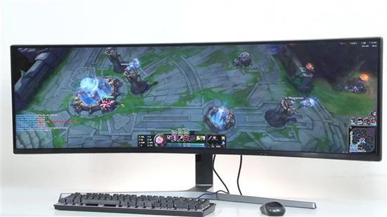 三星CHG90显示器超大游戏视野