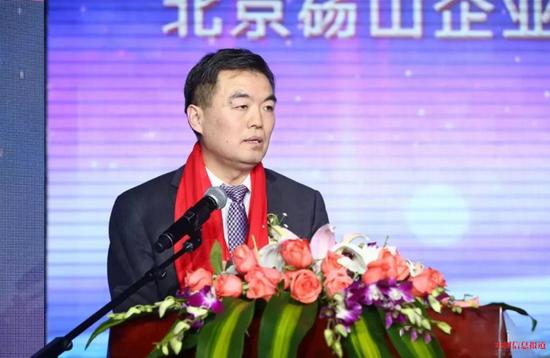 北京砀山企业商会监事长范亚光发言