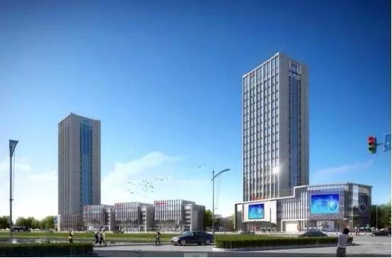 公寓总建筑面积约3.8万平米。