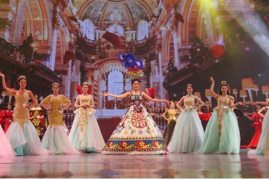 兰亭护肤独家冠名19届环球华裔小姐全国总决赛