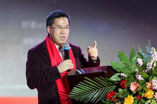 著名经济学家马光远出席大会并做了主题演讲