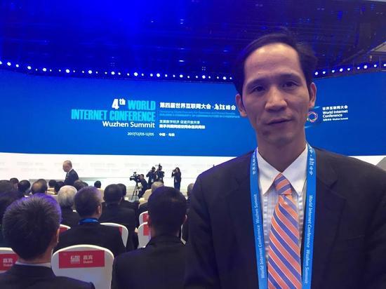 华梦集团董事长兼CEO张幼标应国家互联网信息办公室邀请出席大会