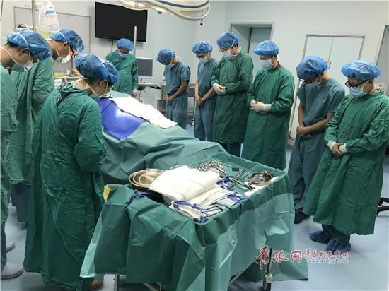 夏长旭的器官捐献将帮助三人重获新生