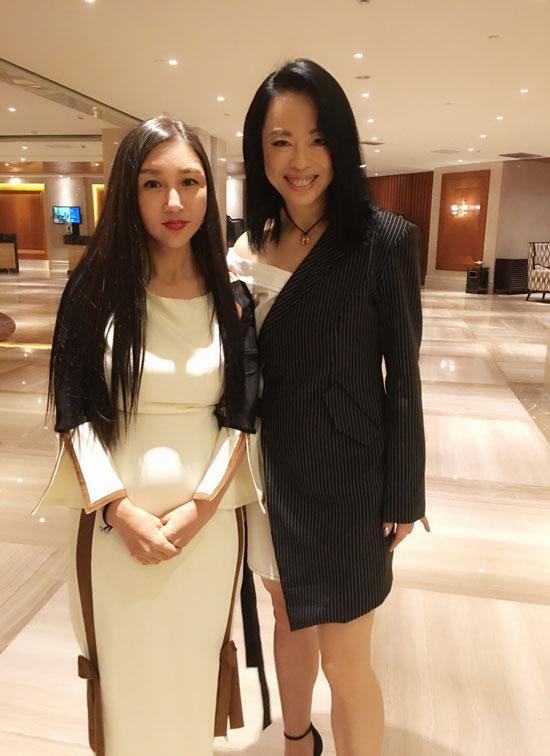 煦氰品牌创始人与歌手黄绮珊