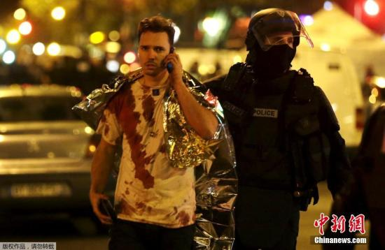"""巴黎恐袭致129死352伤 爆炸物被称作""""撒旦之母"""""""