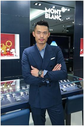 万宝龙中国区品牌大使林丹先生