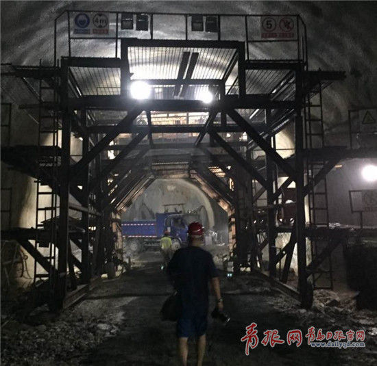 青岛地铁1号线新进展:过海隧道海域段开挖