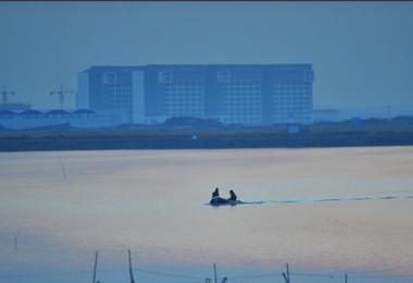 渔舟唱晚胶州湾