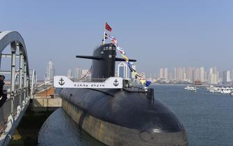 中国首艘核潜艇今天起对公众开放