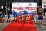 青岛首届妈祖文化节启幕 两岸商贸展亮相长途站