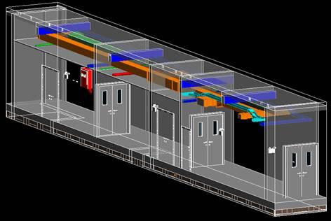 (剖析各专业管线路由,优化净空高度,为业主提供最优的空间感受)